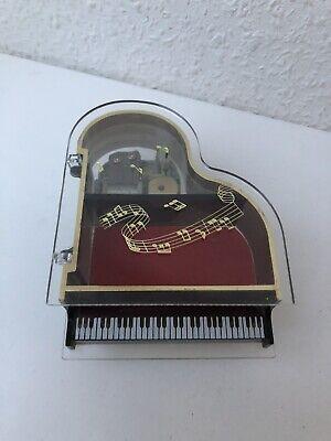 """Spieluhr Klavier Uhrwerk Japan Sankyo Melodie """"Für Elise"""" von Beethoven #J"""
