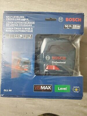 Bosch Gll 50-rt Self-leveling Cross-line Laser
