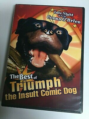 The Best of Triumph the Insult Comic Dog (DVD, 2004) Not a Scratch! (Best Triumph The Insult Comic Dog)