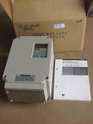 Nib Yaskawa Ultra Compact All-digital Low Noise Inverter Cimr-pcu40p2 3ph 460v