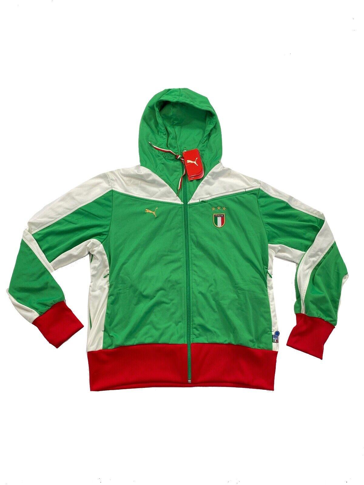 Italy / Italia Jacket Retro Football Puma Tracksuit Zipped J