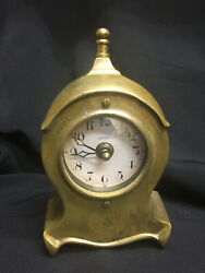 Solid Brass Timeworks Series 1906 Mantle Clock - Gothic - Quartz - PRICE CUT