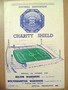 1958-Programme-Charity-Shield-BOLTON-WANDERERS-v-WOLVERHAMPTON-WANDERERS