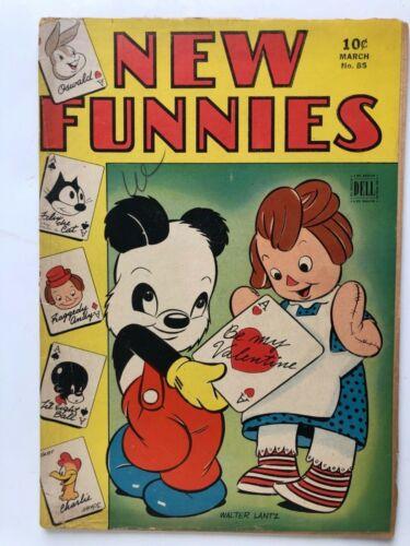 NEW FUNNIES 1944 GOLDEN AGE COMICS. Vol. 1 #85