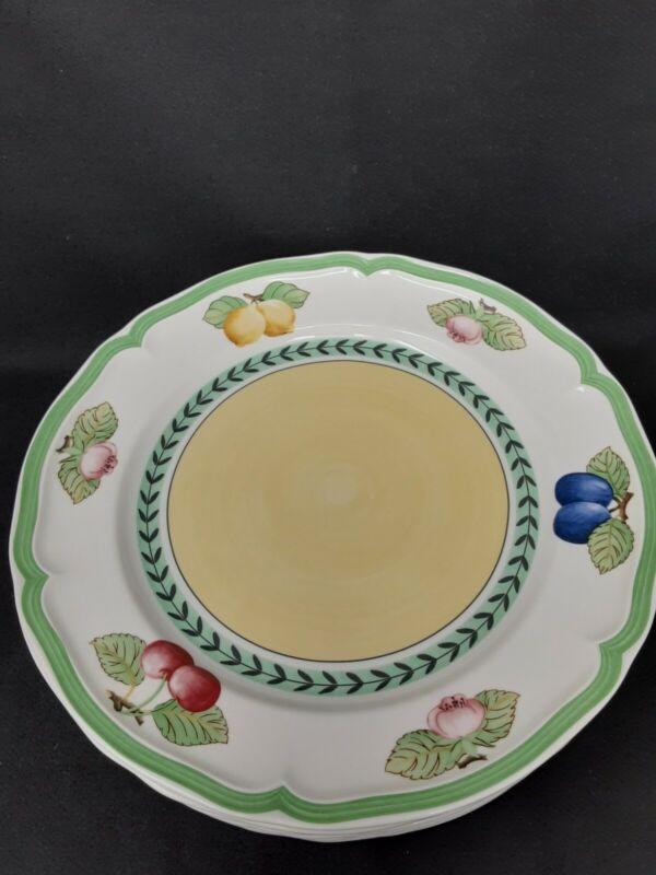 Villeroy Boch French Garden Fleurence Dinner Plates (8)