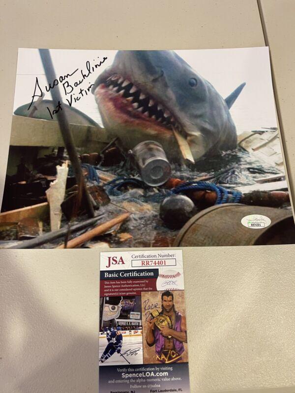 Autographed Susan Backlinie Signed 8x10 Photo Jaws Movie First Victim Jsa Coa