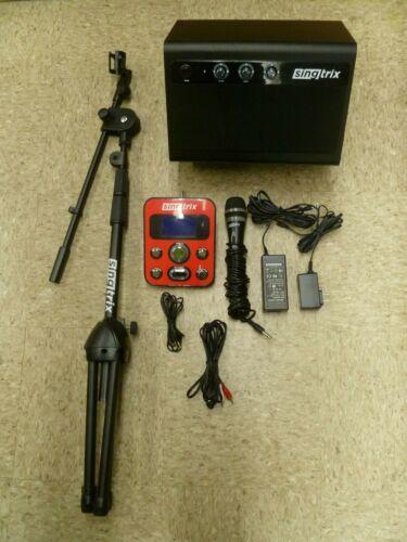 SINGTRIX PARTY BUNDLE PERSONAL HOME KARAOKE SYSTEM 347 EFFECTS MODEL ST122513