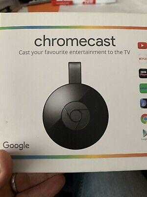 Google Chromecast (2nd Generation) Media Streamer - Black