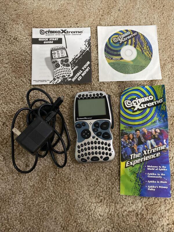 Cybiko Xtreme wireless inter-tainment device PDA tested *read Description* Rare