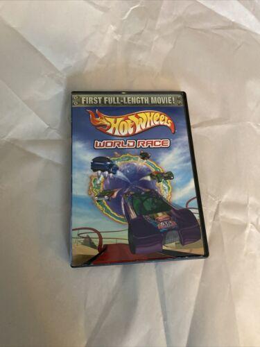 Hot Wheels World Race DVD, 2003, Sensormatic  - $13.00