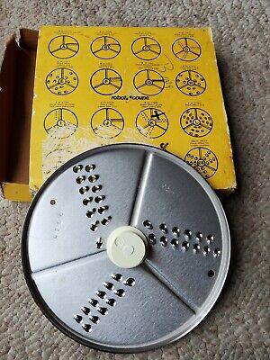 Nib Lot Of 2 Robot Coupe Grating Discs 27588 27577 Blades