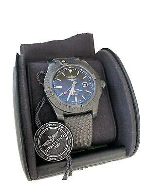 Breitling Avenger Blackbird Military Strap + Spare Strap