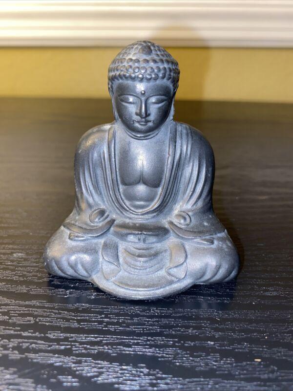 Small Metal Figure / Kamakura Great Buddha / Japanese / Vintage