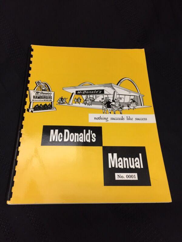 Original 1958 McDonald