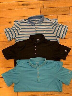 Adidas Golf Polo Tshirt Large x3