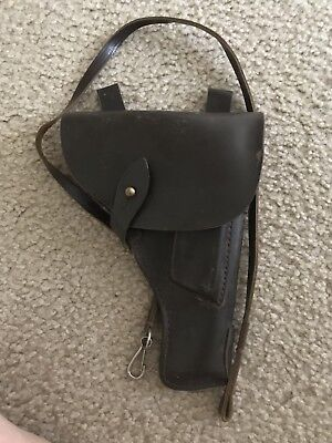 Holster TT 33 TOKAREV original leather and safety strap