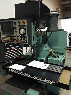 Mhp S-24 Cnc Vertical Milling And Machining Center Ohio