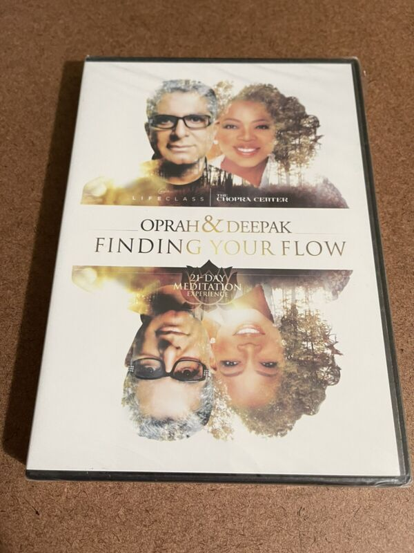 21-Day Meditation Experience: Finding Your Flow Oprah & Deepak New DVD