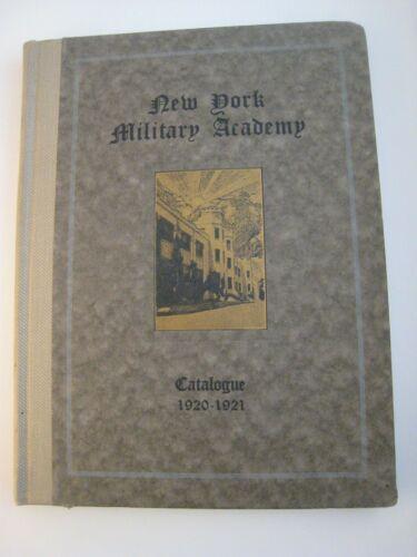 Vintage NEW YORK Military Academy CATALOGUE - 1920-1921