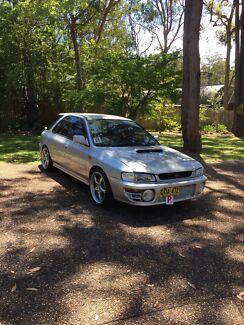 1996 boosted Subaru Impreza