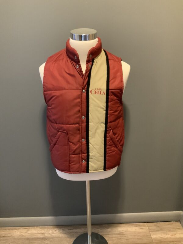 Vintage Aldo Cella Puffer Vest Size Small  Chill a CELLA Promo
