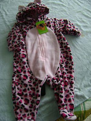 INFANT LEOPARD COSTUME - NEW SZS 0-3, 3-6, 6-9 MOS.
