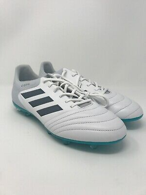 a4592c57f NEW Adidas Copa 17.2 FG Leather Soccer Futbol Cleats White Blue S78135 Size  11.5