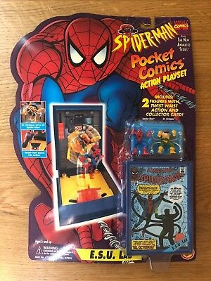 Action E Comics (Spider-Man Pocket Comics Action Playset E.S.U. Lab The New Animated Series)