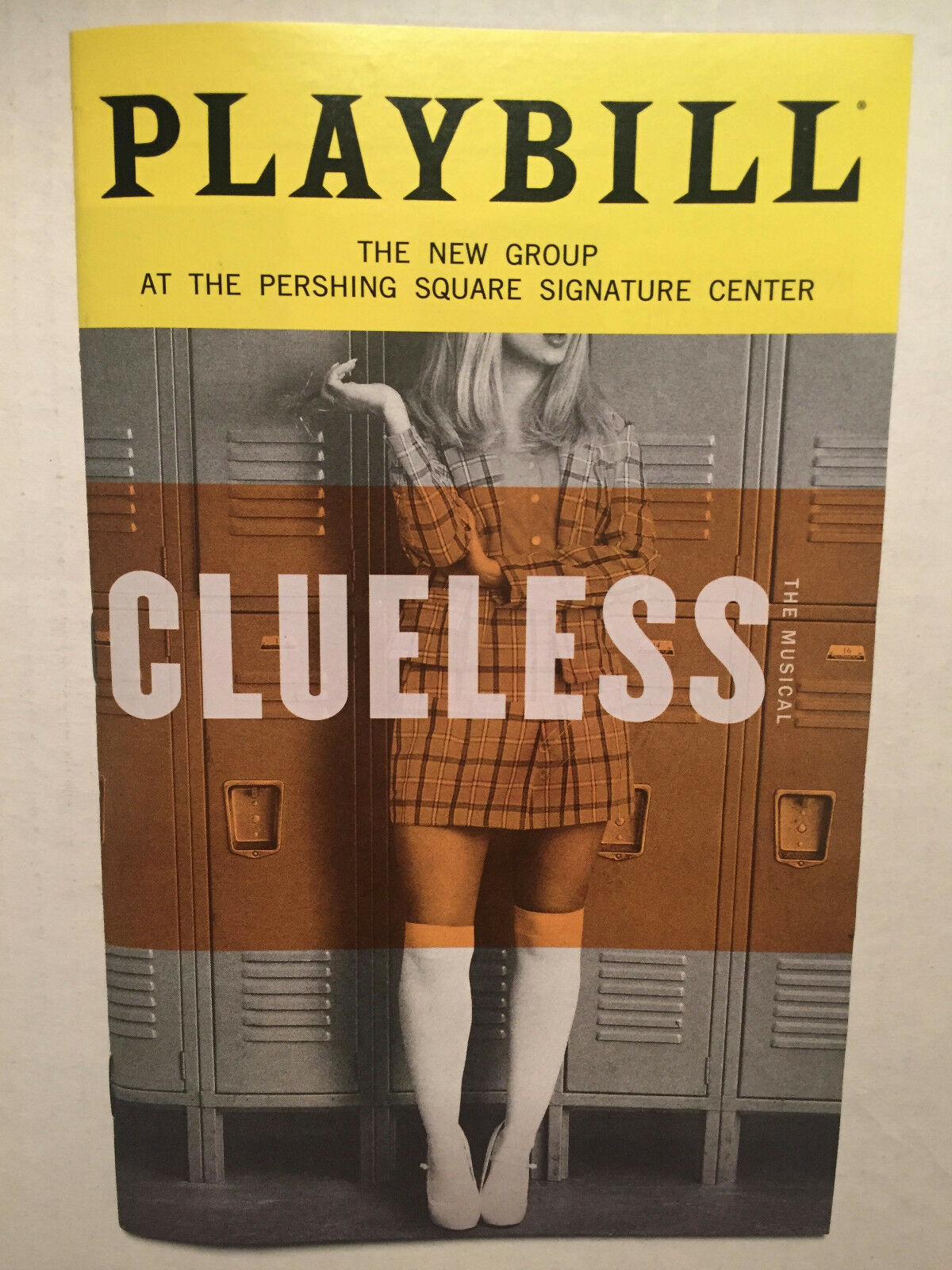 CLUELESS PLAYBILL BOOK NEW YORK BROADWAY JANUARY 2019 Dove Cameron