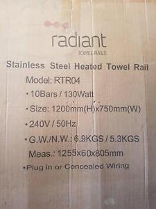 1200 watts gumtree australia free local classifieds radiant stainless steel heated towel rail new fandeluxe Gallery