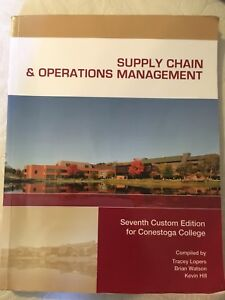 Supply Chain & Operations Management 7th Edition Textbook