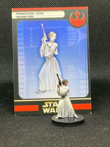 Star Wars Miniatures: Rebel Storm - Princess Leia, Senator (13/60)