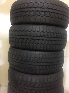 4-205/60RR16 Uniroyal winter tires