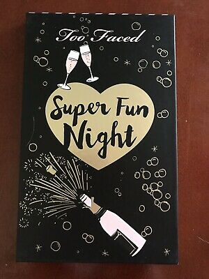 Too Faced SUPER FUN NIGHT Eyeshadow Highlighter Palette Best Year Ever 2018