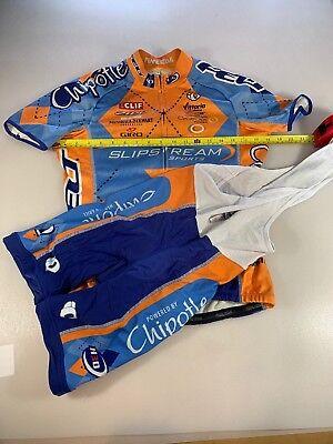Pearl Izumi Thermal Cycling Jersey And Bib Shorts Small S (6483) 6f8f3ca72