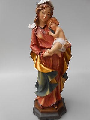 Sehr schöne Mutter Gottes Madonna rot/blau mit Kind Größe 40 cm  Geschenk