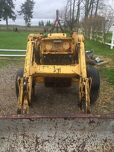50A Massey industrial loader tractor