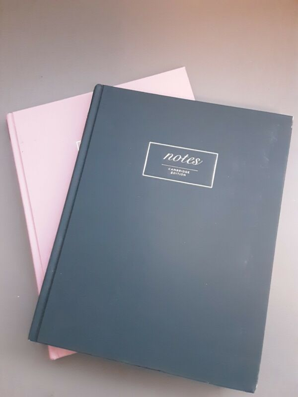 """2 - Mead Cambridge Notes Casebound Notebook 96 Sheets 8"""" x 10"""""""