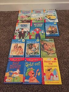 Learn to read phonics book lot