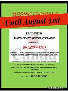 FURNACE CLEANINGS AND INSPECTION