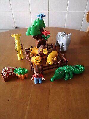 Lego Duplo Zoo Animals etc inc Giraffe, Lion, Elephant plus parts