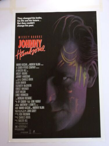 JOHNNY HANDSOME Original THEATER-USED Movie Poster 27x41 #