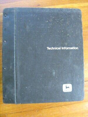 John Deere 8440 8640 Tractor Technical Manual Tm-1199