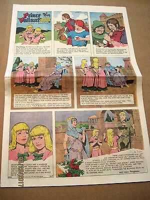Prince Valiant by Hal Foster~rare full page '60s Sunday comic~10/9/1966~ #1548