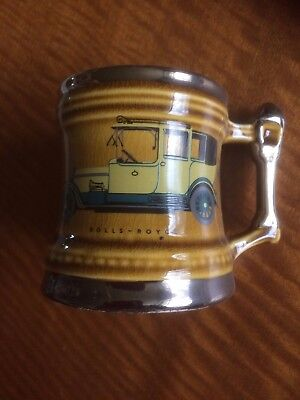 Vintage Retro Dartmouth Britannia Designs : Rolls Royce Tankard / Mug