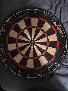 Dart board as pictured never used once