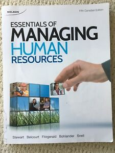 Essentials of managing Human Resources - 5th edition