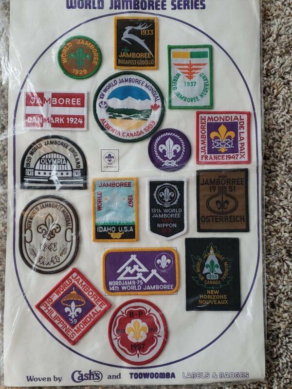 1988 World Jamboree Reproduction Jamboree patch set  Boy Scouts Australia