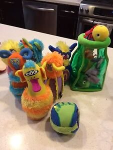 Melissa &Doug bug stuff n sort and monster bowling