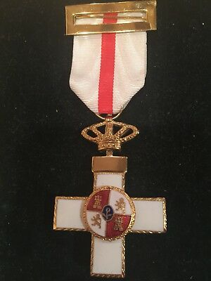 Spain.Order Of Military Merit.I Class Breast Cross.Type VI 1936-1976